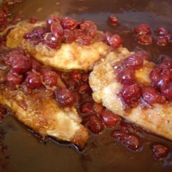 Chicken With Cranberries recipe