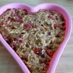 Apple, Cranberry and Walnut Bread recipe