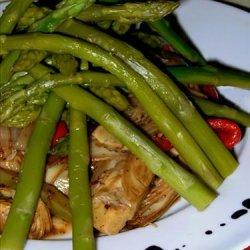 Balsamic Asparagus and Artichokes recipe