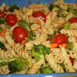 Naughty Curry  Pasta Salad recipe