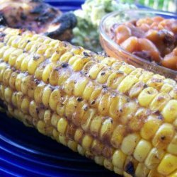 Grilled Corn With Cumin and Lime recipe