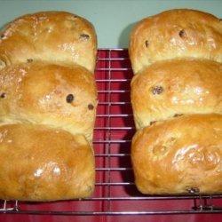 Molasses Raisin Bread recipe