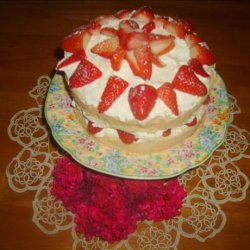 Whipping Cream Sponge Cake recipe