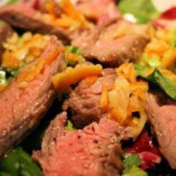 Flank Steak Orange Salad recipe