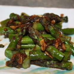 Stir Fried Broccoli With Ginger and Hoisin Sauce recipe