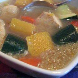 Squash and Quinoa Soup recipe