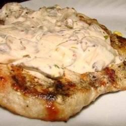 Pork Chops in Mustard Mushroom Sauce recipe