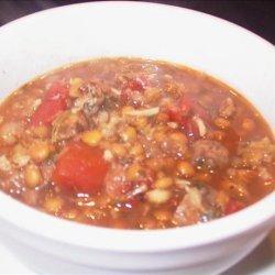 Lentil Soup With Lamb recipe