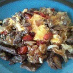 Heartland Philly Cheese Steak and Potato Bash #5FIX recipe
