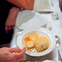 Chicken Soup With Matzo Balls recipe