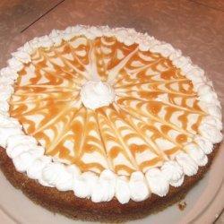 Swirled Pumpkin and Caramel Cheesecake recipe