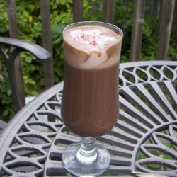 Hot Chocolate With Pink Peppermint Whipped Cream recipe