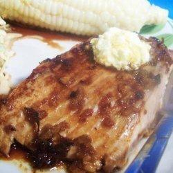 Teriyaki Salmon With Marmalade Butter recipe