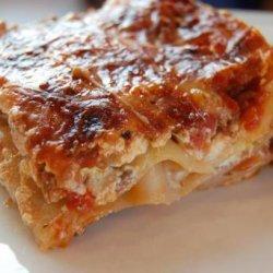 Lasagna Made Easy recipe