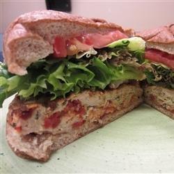 Greek Chicken Burgers with Feta recipe