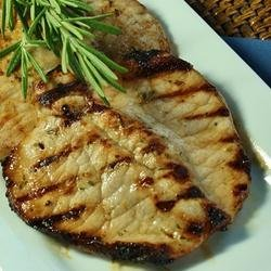 Andrew's Favorite Grilled Pork Chops recipe