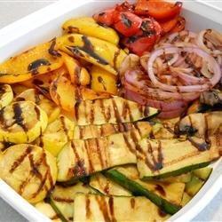 Grilled Vegetables with Balsamic Vinegar recipe