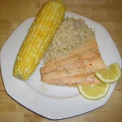 Onion Salmon recipe