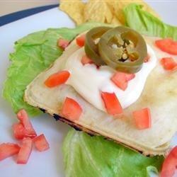 Pie Iron Tacos recipe