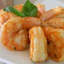 Healthier Marinated Grilled Shrimp recipe