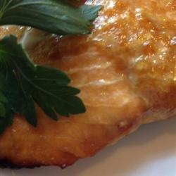 Healthier Grilled Salmon I recipe
