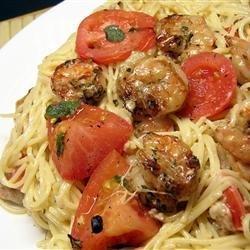 Grilled Shrimp Caprese recipe