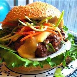 Asian Barbecue Burgers recipe