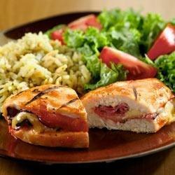 BBQ Chicken Cordon Bleu recipe