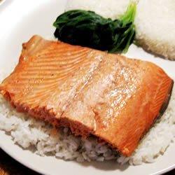 Marinated Salmon 'Smoothly' recipe