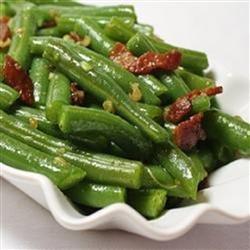 Garlic Green Beans recipe