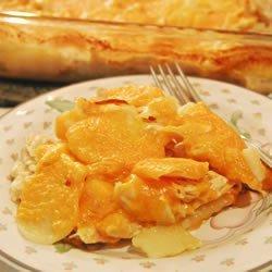 Cheesy Chicken and Potato Casserole recipe