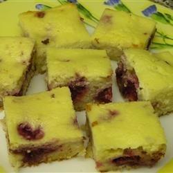 Blueberry Ricotta Squares recipe