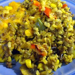 Wild Rice and Beef Casserole recipe