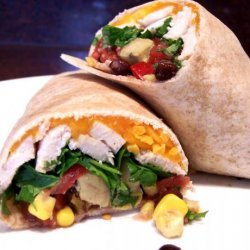Chili-Lime Chicken and Avocado Wraps recipe