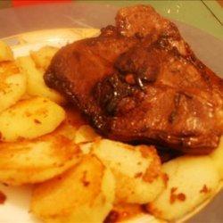 Lamb Chops With Balsamic-Herb Glaze recipe