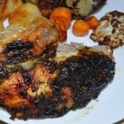Roast Chicken With Garlic, Lemon and Parsley recipe