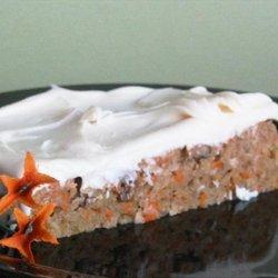 Carrot  Snack Cake recipe