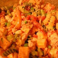 Tuna, Cheese and Pasta Salad recipe