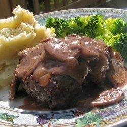 Best Salisbury Steak With Mushroom Gravy recipe