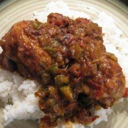 Spanish Chicken With Yellow Rice recipe