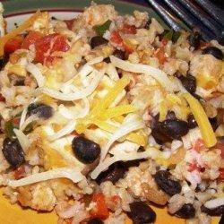 Mexican Chicken and Rice Casserole recipe