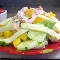 Shrimp Salad Surprise recipe