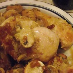 Yummy Chicken Marsala recipe