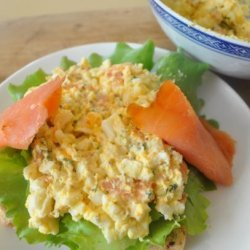 Egg Salad and Smoked Salmon Sandwiches recipe