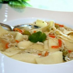 Chicken Soup for a Cold recipe