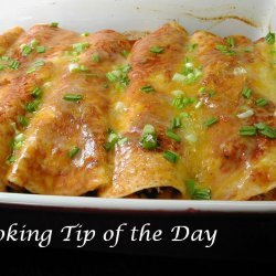 Crock Pot Chicken Enchiladas recipe