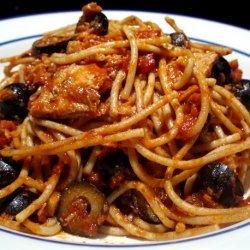 Spaghetti With Italian Tuna & Capers recipe