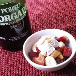 Fruit Salad With Port recipe