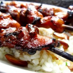 Chicken Skewered With Ketjap Manis recipe