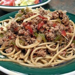 Spaghetti With Turkey Meat Sauce recipe